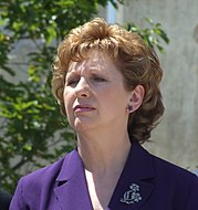 Mary McAleese, President of Ireland, is an example of a non-executive head of state.