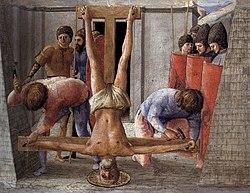 Masaccio: The Crucifixion of Saint Peter