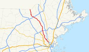 Massachusetts Route 38 - Image: Massachusetts Route 38