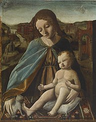 Madonna and Child with a Cat