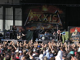 Axxis Masters of Rock- festivaaleilla 2007