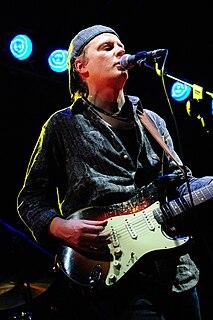 Matt Schofield English blues guitarist and singer