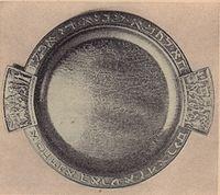 Seder de Pessach Placa (1948 Pal-Bell, Maurice Ascalon)