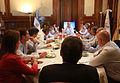 Mauricio Macri presidió la reunión semanal del gabinete porteño (6760523621).jpg