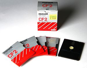 "Hitachi Maxell - Maxell 3"" floppy disks"