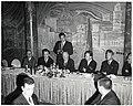 Mayor John F. Collins with unidentified men (11071927383).jpg