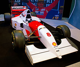 McLaren MP4-8 front-right 2012 Autosport International.jpg