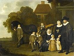 Jacob van Loo: La Famille Meebeeck Cruywagen