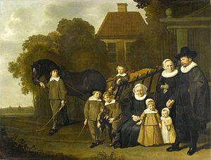 Jacob van Loo - Image: Meebeeck Cruywagen Family by Van Loo