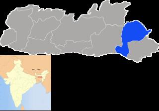 West Jaintia Hills district District of Meghalaya in India