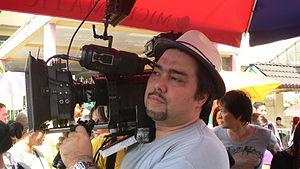 Mark Meily - Image: Meily w Camera