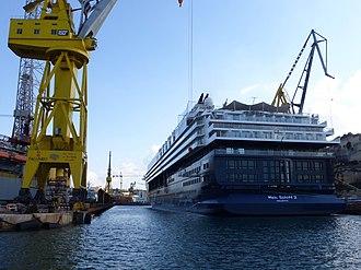 Mein Schiff Herz - Mein Schiff 2 in the Chinese Dock in Valletta (2016)