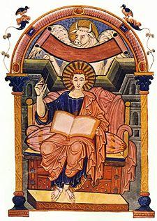Representación del evangelio de Mateo (ángel). Véase tetramorfos.