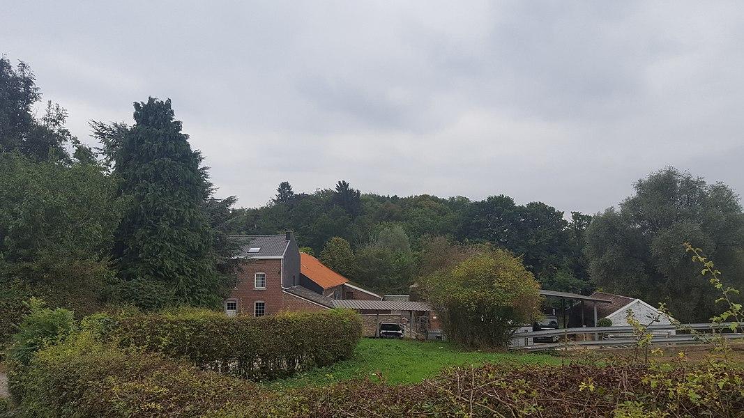 Château de Vreuschemen, Membach, Baelen, Belgique