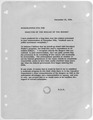 Memorandum from President Eisenhower to the Director of theBureau of the Budget - NARA - 186526.tif
