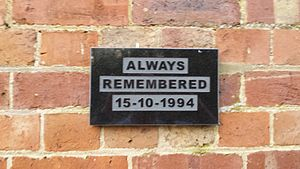 Memorial plaque at Cowden station.jpg