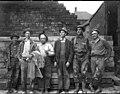 Men standing in front of railroad ties, Burke, Idaho, circa 1900 (AL+CA 1467).jpg