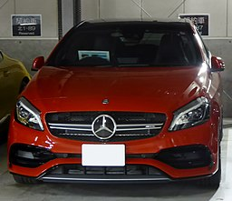 Mercedes-AMG A45 4MATIC (W176) front