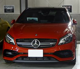 Mercedes-AMG A45 4MATIC (W176) front.JPG