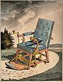 Merlin's mechanical chair for the elderly or infirm; the Wellcome V0016493.jpg