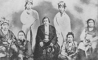 Woodford County, Illinois - The Meskwaki (Fox) were pushed from their historic homelands to Iowa and Indian Territory (part of today's Oklahoma).