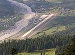 Mestia Queen Tamar Airport runway - Svaneti, Georgia.jpg