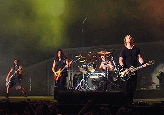 1980s in music - Metallica in concert, 2003