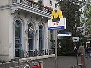 Ingang metrostation Eendrachtsplein