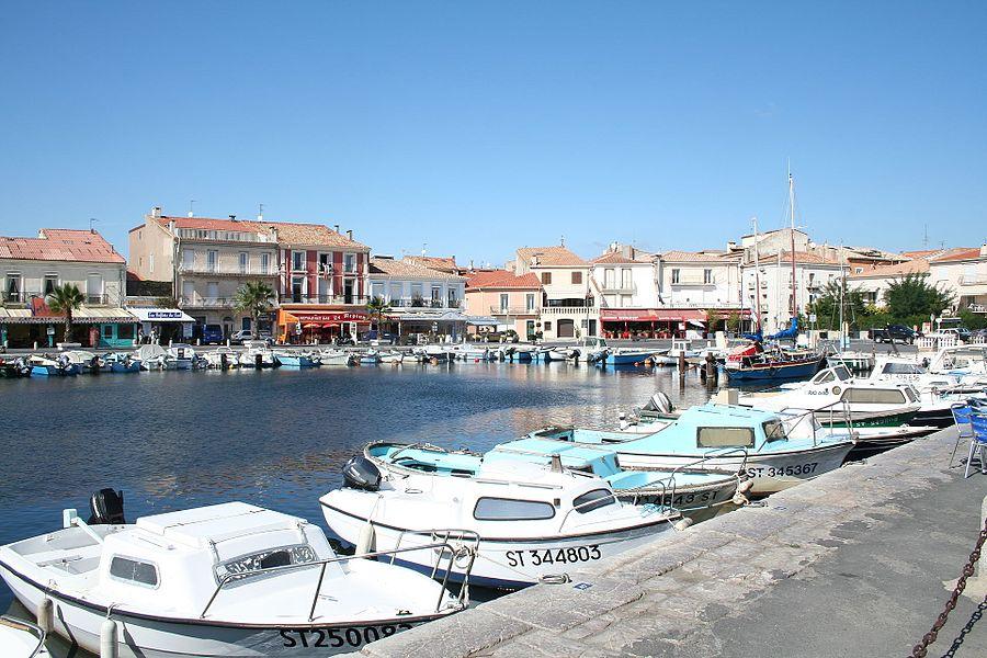 Mèze (Hérault) - Port.