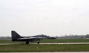MiG-29 18108 2 V i PVO VS august 7 2012.JPG