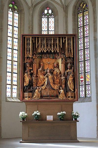 File:Michael-Pacher-Altar in der Alten Grieser Pfarrkirche in Bozen.JPG