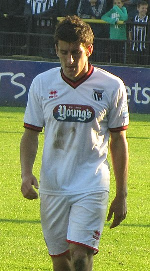 Michael Coulson (footballer) - Coulson playing for Grimsby Town in 2011