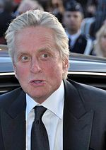 Photo of Michael Douglas arriving at the 2009 Cannes Film Festival.