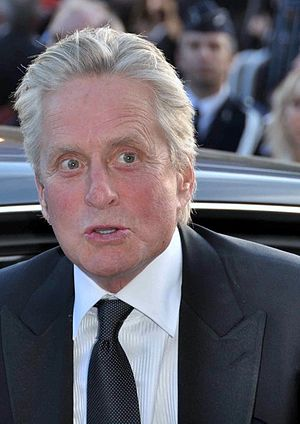 English: Michael Douglas at the Cannes Film fe...