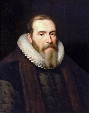 Michiel Jansz van Miereveld (attr) - Portret van Johan van Oldenbarnevelt