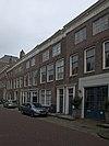 Huis met lijstgevel in lijst gedateerd 1737