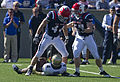 Midshipmen on offense at Navy at Air Force 2010-10-02 3.JPG