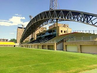 Mika Stadium - The main stand