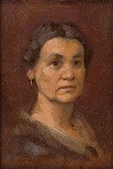 Portrait of Mrs. Šrobárová