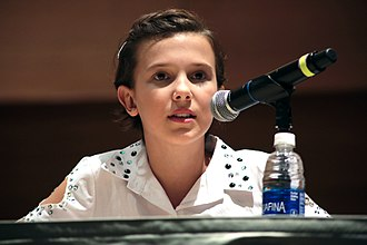 Millie Bobby Brown - Brown at the 2016 Phoenix Comic Fest