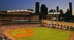 Minute Maid Park, home of the Astros