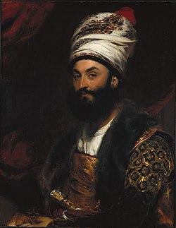 Mirza Abu'l Hassan Khan by Thomas Lawrence, 1810 - Fogg Art Museum - DSC02319.JPG