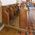 Misericord Stalls, South, Church of St Peter and St Paul, East Harling.jpg