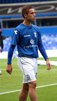 Mitch Hancox, preseason against Antwerp.jpg