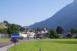 Village in Glarus, Switzerland