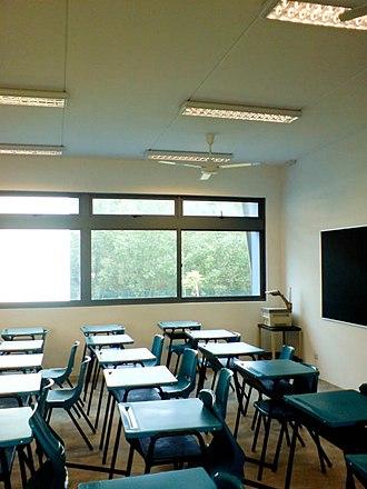 Millennia Institute - A classroom in Millennia Institute