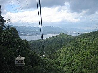 Miyajima Ropeway - Miyajima Ropeway, Momijidani Line.