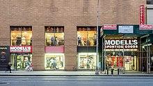 huge discount 93dda 7e4c0 Modell's Sporting Goods - Wikipedia