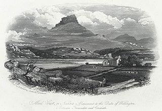 Moel Gest, or, Nature's monument to the Duke of Wellington: between Tremadoc and Criccieth