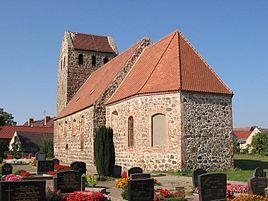 Denkmalgeschützte Feldsteinkirche